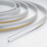 Listwa przyblatowa samoprzylepna firmy Rehau kolor - stal szlachetna ZWIJANA, sprzedaż w mb Maksymalna długość 50mb
