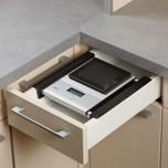 *** PROMOCJA ***  Waga do zabudowy nakładana na boki szuflady WES 35 z systemem ważenia Sohnle niemieckiej firmy Ritter. Optymalne przechowywanie wagi...