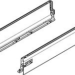 Komplet boków 358L Brunatnoczarnych TANDEMBOX INTIVO Przeznaczone do wykonania szuflady z wysokim frontem w systemie TANDEMBOX Intivo. Boki uzupełniane są...