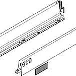 Komplet boków 358M Jedwabiście-białych do szuflady TANDEMBOX INTIVO Wysokość boku: M=83 mm Wysokość zabudowy: 98.5 mm Materiał: stal Mechanizm...