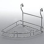 Koszyk Zawieszkowy Narożnikowy Metal Nikiel-Satyna Systemy relingowe świetnie wypełniają pustą przestrzeń między szafkami dolnymi a górnymi półkami...