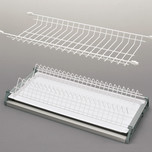 Ociekarka VARIANT 1 w kolorze białym dwupoziomowa wraz z tackami stanowi część wyposażenia szafek kuchni. Do szafki 80cm. Nawet jeśli posiadasz...