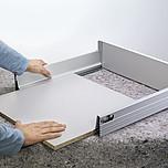 DNO 50cm/60cm SZARE Do TANDEMBOX Tandembox plus Dno przeznaczone jest do szuflad Tandembox Plus i Tandembox INTIVO do długości prowadnicy 50cm i szerokości...