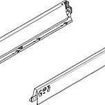 Komplet boków 358N Jedwabiście-białychdo szufladyTANDEMBOXANTARO i INTIVO  Wysokość boku: N=68 mm Wysokość zabudowy: 82.5 mm...
