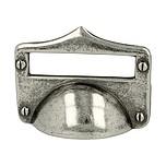 Uchwyt z kolekcji Druckguss renomowanej firmy Siro. Wykonany z metalu. Kolor pokrycia - stare srebro. Rozstaw - 32mm. UWAGA!!! Zdjęcie nr 1 jest zdjęciem...