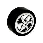 Gałka dziecięca renomowanej firmy SIRO z kolekcji Nursery Wykonana z tworzywa sztucznego.  Gałka w kształcie samochodowego kółka będzie świetnym...