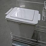 Kosz na śmieci uniwersalny z prowadnicami kulkowymi pełnego wysuwu Pojemność 12l. Idealne zastosowanie do kuchni w dowolnym miejscu. Wykonany jest z...