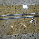 Reling podłużny Aluminium do METABOX dł.45cm Reling to element szuflad METABOX z wysokim frontem o pełnym i częściowym wysuwie. Stosuje się go w celu...