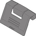 Uchwyt frontu ZIF.80M5 do szuflady Tandembox ANTARO i Tandembox INTIVO wysokość M Materiał: tworzywo Kolor / Powierzchnia: biały Zamiennie można...