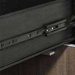 Wysokiej klasy prowadnica kulkowa firmy Accuride wykonana ze stali pokrytej cynkiem i pasywowana na czarno. Przystosowana do obciążeń - 43 kg na parę...