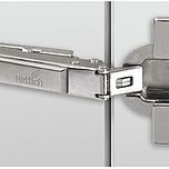 """Zawias automatyczny z techniką montażu na prowadnik typu """"clip"""" Klasyfikacja jakości zgodnie z EN 15570, poziom 2 Do drzwi o grubości 15 - 28 mm..."""