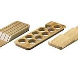 Uchwyt na noże do szuflad InnoTech dedykowany do wkładów OrgaTray 420, 430, 440 i 480 wykonany z drewna, Buk lakierowany Informacja artykuł (PDF) ...