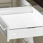 Sprzedawany zestaw zawiera: 1. InnoTech Szuflada, kpl., 470 / 70, kolor biały 2. Quadro V6 Push to open 470 mm, EB 10.5 mm --------------------- 1. InnoTech...