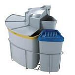 Kosz do sortowania odpadów Eko Center  Pojemność1x19l + 1x12l + 1x9l Do korpusu o szerokości 50cm  * kosze współpracują z drzwiczkami...