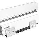 Szuflada Gamet Box firmy GAMET Dane techniczne: Wysokość boków 100mm Regulacja pionowa i pozioma panelu frontowego: +/- 2 mm Boki wykonane ze stali...