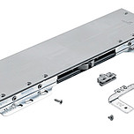 Ciche i delikatne zamykanie środkowych drzwi w szafach 3-drzwiowych Niewielka siła potrzebna do otwarcia drzwi zapewnia komfortowe użytkowanie Środkowe...