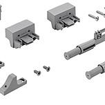 Dodatkowe wspomaganie amortyzacji w dolnej części szafy Zoptymalizowany, liniowy ruch przesuwanych drzwi: bez efektu kołysania szczególnie w przypadku...