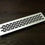 Kratka wentylacyjna aluminiowa 60 L-245mm - Kolor aluminium C-0   Wymiary kratki: Długość - 1,65cm Wysokość - 6,2cm Szerokość - 48cm Otwór...
