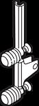 ZF7K70E2 Rodzaj mocowania frontu: Mocowanie frontu System szuflad: LEGRABOX Materiał: stal Kolor / Powierzchnia: cynkowana Sposób mocowania z frontem:...