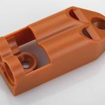 Adapter podwójny do montażu z hamulcem Airtic. Produkt wykonany z tworzywa sztucznego w kolorze buk. Adapter Podwójny pozwala na montaż amortyzatora...