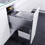 Kosze do sortowania odpadów EKO XXLiner Pojemność 1x32L + 1x1,2L Do korpusu o szerokości 30cm   Przeznaczone do korpusu o głębokości wewnętrznej...