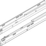 Prowadnice Tandembox ANTARO do TIP-ON Blumotion  dł.: 500 mm Pełen wysuw Materiał: Stal Obciążenie dynamiczne: 30 kg Kolor / Powierzchnia:...